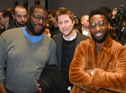 christopher-bailey-steve-mcqueen-and-tinie-tempah-backstage-at-the-burberry-menswear-january-2016-show