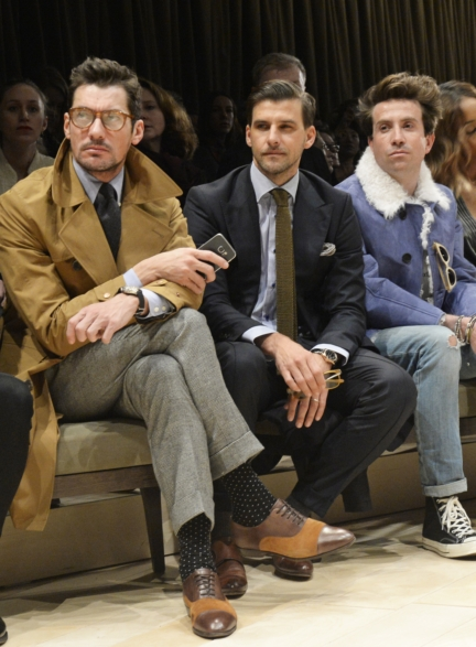 david-gandy-johannes-huebl-and-nick-grimshaw-wearing-burberry-at-the-burberry-menswear-january-2016-show