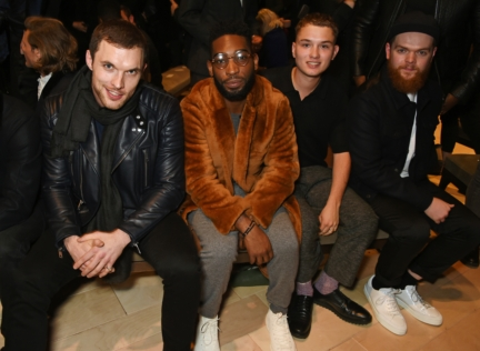 ed-skrein-tinie-tempah-rafferty-law-and-jack-garratt-on-the-front-row-at-the-burberry-menswear-january-2016-show