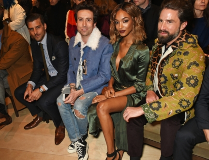 johannes-huebl-nick-grimshaw-jourdan-dunn-and-jack-guinness-on-the-front-row-at-the-burberry-menswear-january-2016-show