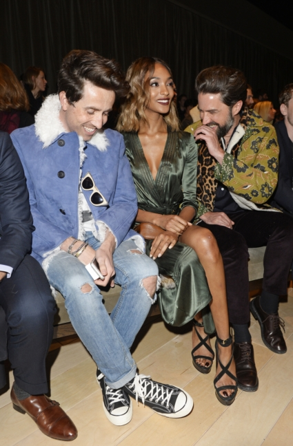nick-grimshaw-jourdan-dunn-and-jack-guinness-on-the-front-row-at-the-burberry-menswear-january-2016-show