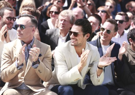 david-furnish-david-gnady-and-dan-gillespie-sells-at-the-burberry-prorsum-spring-summer-2015-show