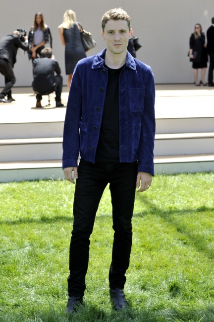 george-barnett-wearing-burberry-at-the-burberry-prorsum-menswear-spring-summer-2015-show