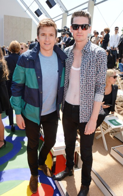 greg-james-and-george-craig-at-the-burberry-prorsum-menswear-spring_summer-2015-show