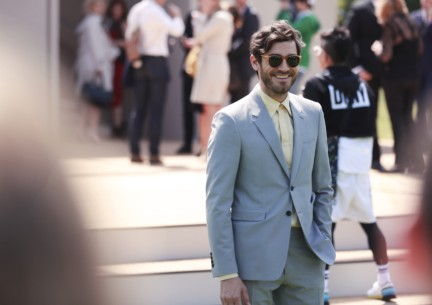 robert-konjic-wearing-burberry-at-the-burberry-prorsum-spring-summer-2015-show