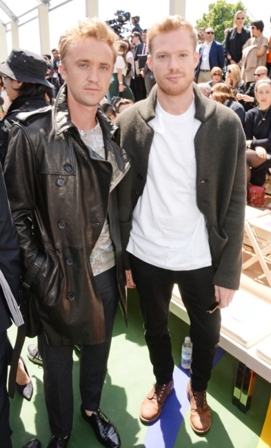 tom-felton-and-sam-reid-at-the-burberry-prorsum-menswear-spring-summer-2015-show