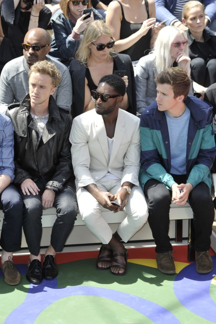 tom-felton-tinie-tempah-and-greg-james-at-the-burberry-prorsum-menswear-spring_summer-2015-show