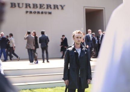 tom-felton-wearing-burberry-at-the-burberry-prorsum-spring-summer-2015-show