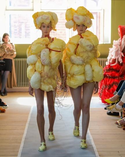 The Royal Danish Academy Of Fine Arts Copenhagen S S 20 Fashion Show Images