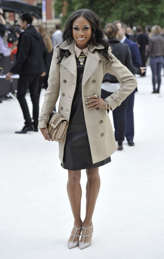 allyson-felix-wearing-burberry-at-the-burberry-prorsum-spring-summer-2013-show