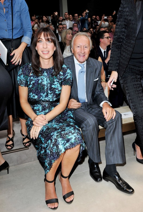 samantha-cameron-sir-harold-tillman-at-the-burberry-prorsum-spring-summer-2013-show