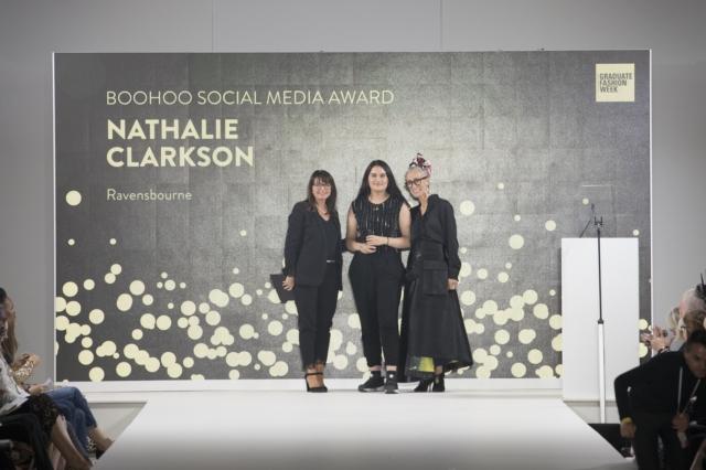 nathalie-clarkson-ravensbourne-boohoo-social-media-award