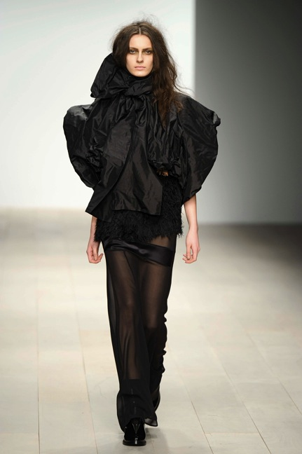 John Rocha Autumn Winter 2012London Fashion WeekCopyright Catwalking.com\'One Time Only\' PublicationEditorial Use Only