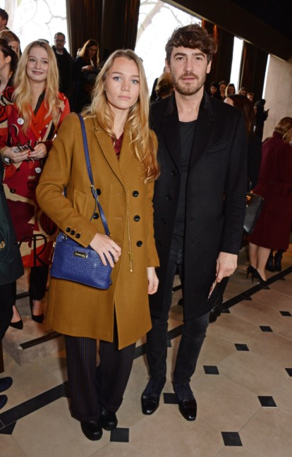 immy-waterhouse-and-robert-konjic-at-the-burberry-prorsum-autumn_winter-2015-show