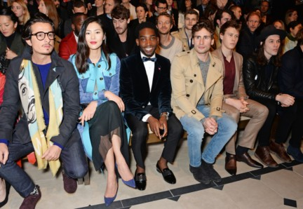 liu-wen-al-mustafa-tinie-tempah-and-edward-holcroft-on-the-front-row-at-the-burberry-prorsum-autumn_winter-2015-show