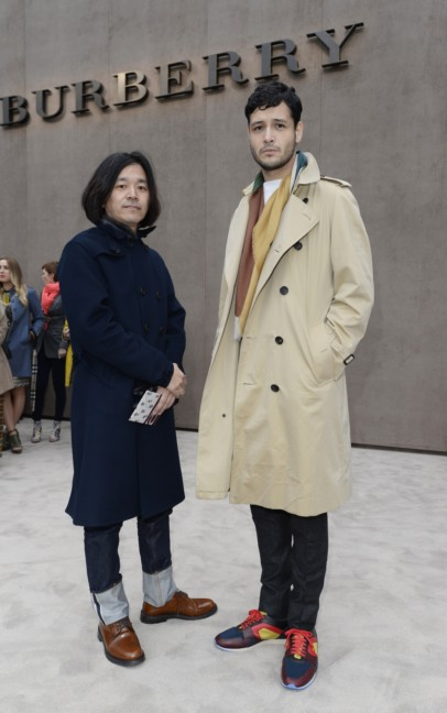 rihito-and-tomoki-sukezane-wearing-burberry-at-the-burberry-prorsum-autumn_winter-2015-show