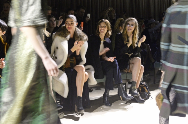 elisa-sednaoui-alexa-chung-and-suki-waterhouse-at-the-burberry-womenswear-february-2016-show