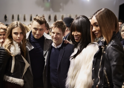 christopher-bailey-cara-delevingne-sam-smith-naomi-campbell-and-jourdan-dunn-backstage-at-the-burberry-prorsum-autumn_winter-2015-show