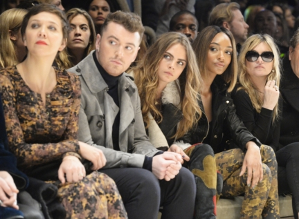 maggie-gyllenhaal-sam-smith-cara-delevingne-jourdan-dunn-and-kate-moss-on-the-front-row-of-the-burberry-womenswear-autumn_winter-2015-show