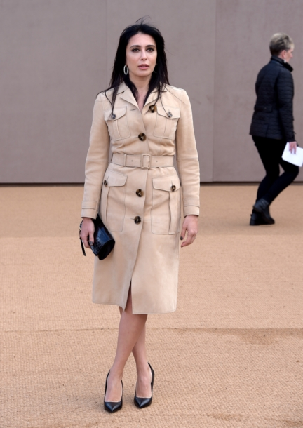 nadine-labaki-wearing-burberry-at-the-burberry-womenswear-autumn_winter-2015-show