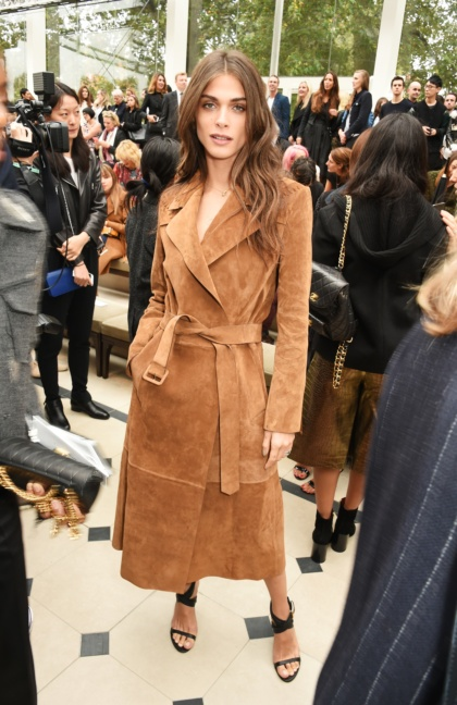elisa-sednaoui-wearing-burberry-at-the-burberry-womenswear-s_s16-show