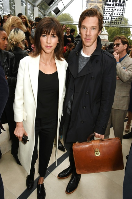 sophie-hunter-and-benedict-cumberbatch-at-the-burberry-womenswear-s_s16-show
