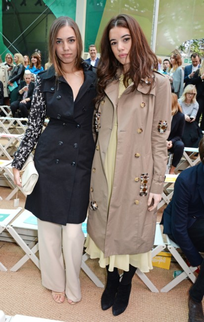 amber-le-bon-and-gala-gordon-at-the-burberry-prorsum-spring_summer-2015-show