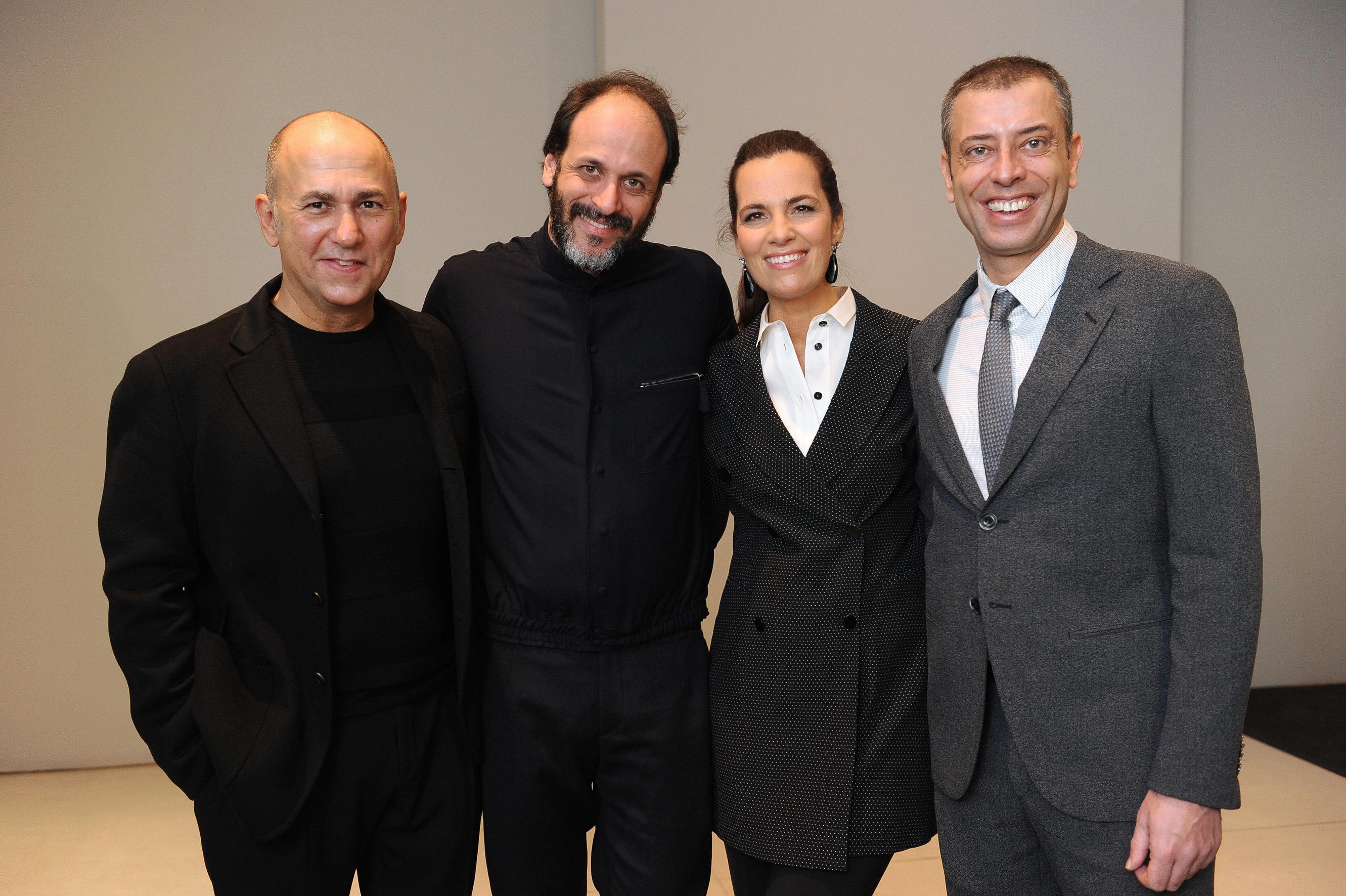 Ferzan Ozpetek;Luca Guadagnino;Roberta Armani;Ivan Cotroneo