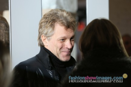 Jon Bon Jovi at Kenneth Cole