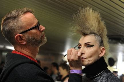 Jean-Paul-Gaultier-Paris-Fashion-Week-Autumn-Winter-2014-Backstage-Images