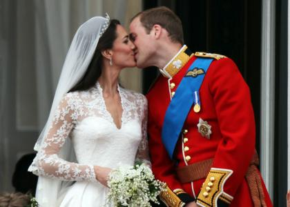 william and kate first kiss