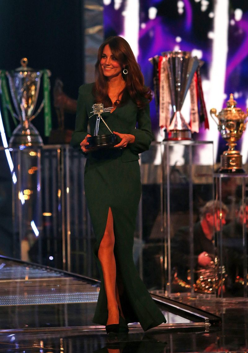 The Duchess of Cambridge at Sports Personality of the Year Awards 2012
