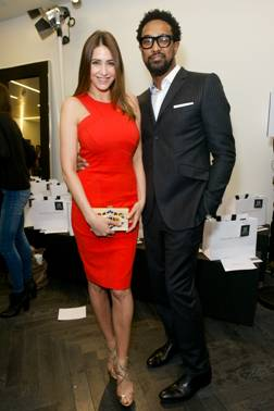 Lisa Snowdon at the Amanda Wakeley Presentation London Fashion Week Autumn/Winter 2014.