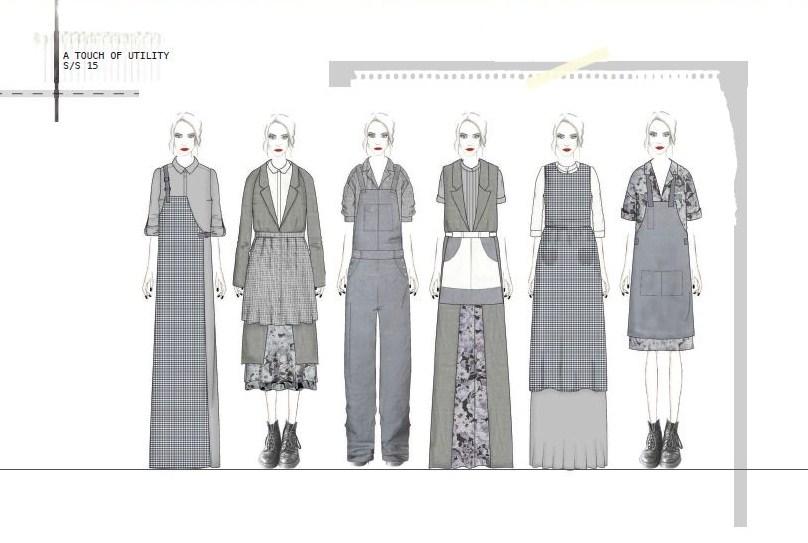 Jayne Acton,University of Lancashire,Graduate Fashion Week 2014