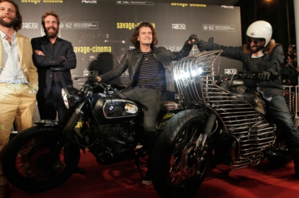 Orlando Bloom,Belstaff,'The Greasy Hands Preachers',San Sebastian International Film Festival