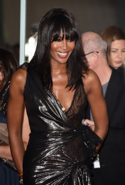 Naomi Campbell in Versace American Horror Story Hotel Premiere