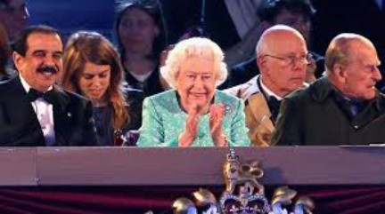 The Queen delights at Spectacular Display at 90th Birthday Gala Celebrations