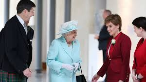 The Queen Meets Nicola Sturgeon