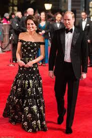 The Duke & Duchess of Cambridge Attend The BAFTA's