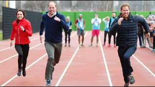 William, Catherine & Harry At Heads Together