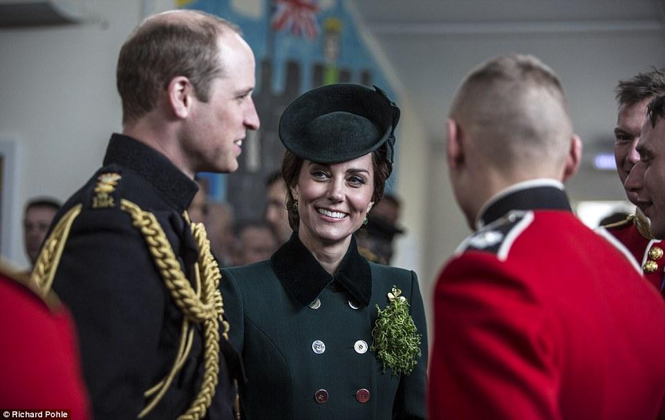 The Duke & Duchess of Cambridge On St Patrick's Day