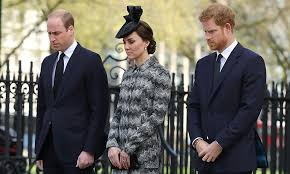The Duke & Duchess of Cambridge & Prince Harry Attend Service of Hope