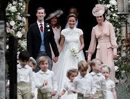 Pippa Middleton & James Matthews Wedding 20th May 2017