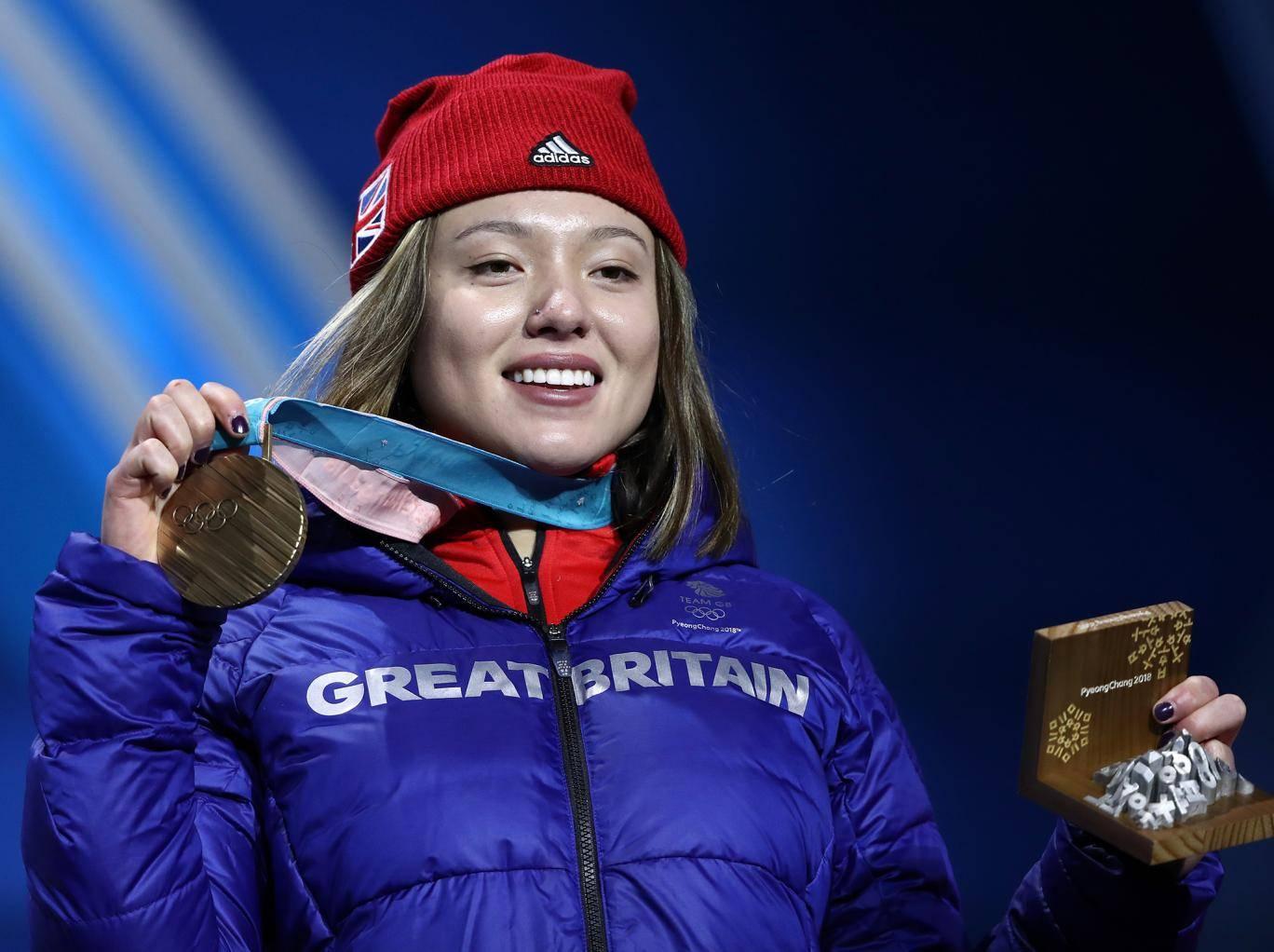 Izzy atkin Wins Bronze