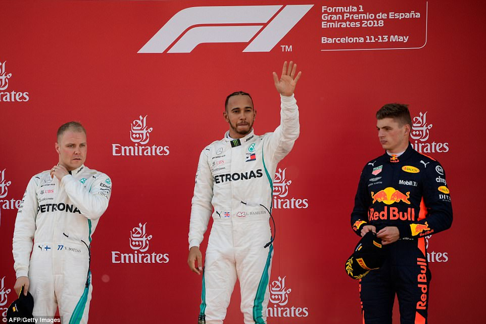 Lewis Hamilton Wins Spanish Granx Prix 7