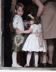 Prince George & Princess Charlotte - Page Boy & Bridesmaid