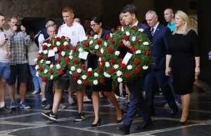 Fans & Dignitaries Pay Their Respects To Fallen At Volgograd 3