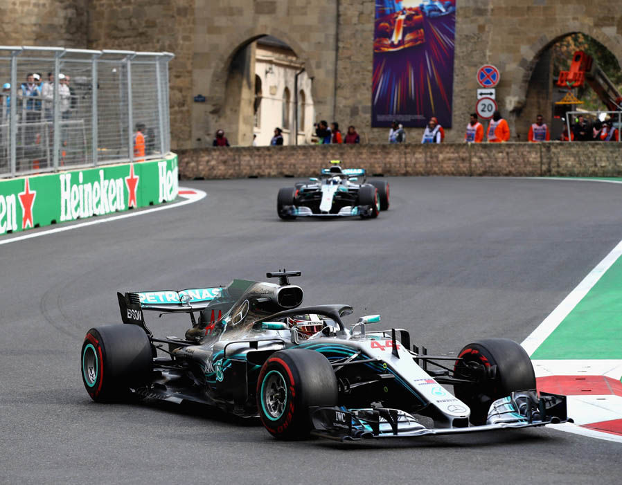 Lewis Hamilton Wins Azerbaijan Grand Prix